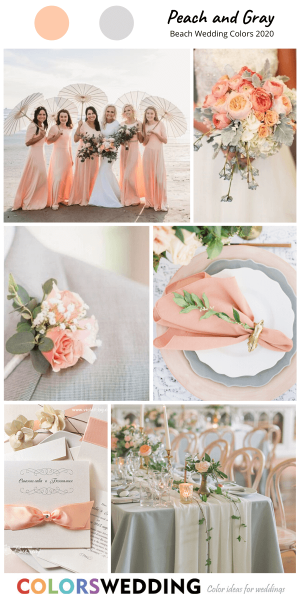 Colors Wedding Top 8 Beach Wedding Color Combos For 2020