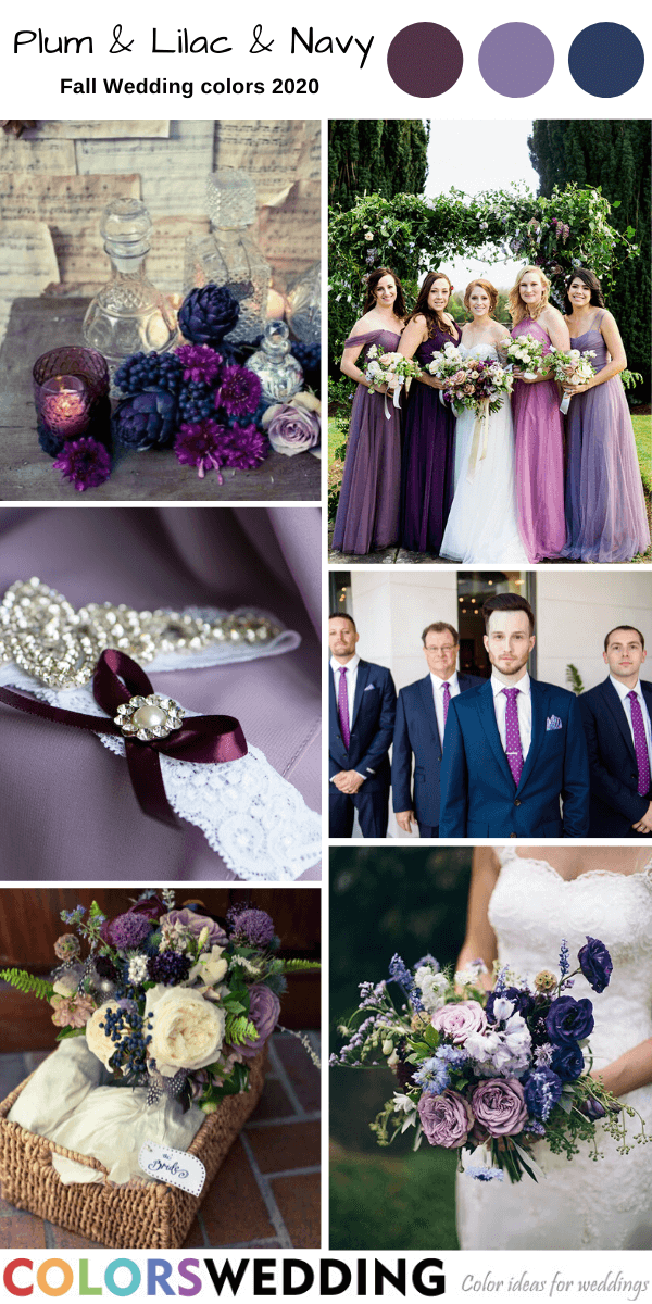 Colors Wedding Best 8 Fall Wedding Color Combos For 2020