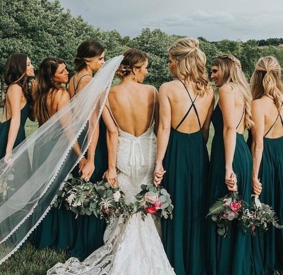 blue green bridesmaid dresses for burgundy fall wedding colors burgundy and blue green